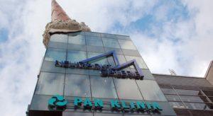 Pan Klinik in Köln von Außen